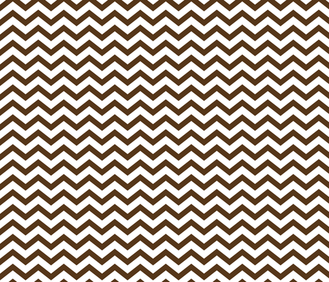 chevron brown fabric by misstiina on Spoonflower - custom fabric