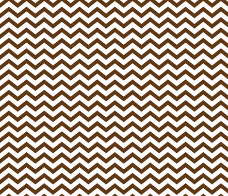 chevron brown and white fabric by misstiina on Spoonflower - custom fabric