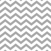 chevron grey and white
