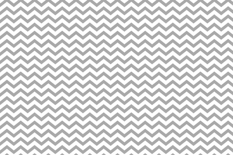 chevron grey fabric by misstiina on Spoonflower - custom fabric