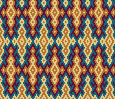 Ring of Fire fabric by ormolu on Spoonflower - custom fabric