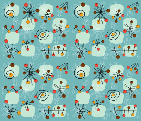 atomic_cyan2 fabric by peppermintpatty on Spoonflower - custom fabric