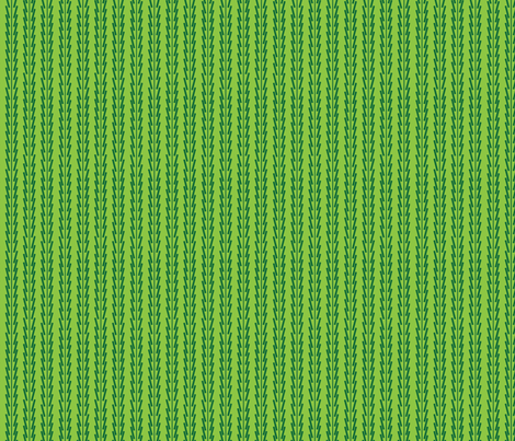 green_on_green_wacky_stripes fabric by gsonge on Spoonflower - custom fabric