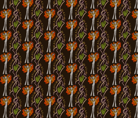 IT'S ALIVE! fabric by glimmericks on Spoonflower - custom fabric