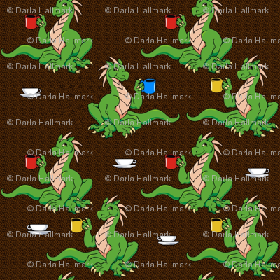 more coffee dragons
