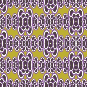 Groovy Iguana bg - Lavender Green