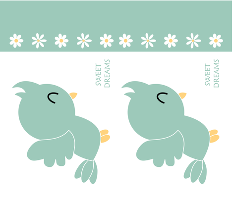Bird's Pillow fabric by freedom_fernandez on Spoonflower - custom fabric