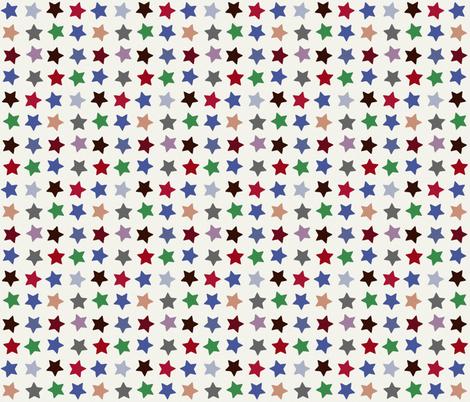 winter stars fabric by scrummy on Spoonflower - custom fabric