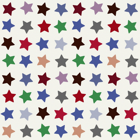winter stars fabric by scrummy on Spoonflower - custom fabric