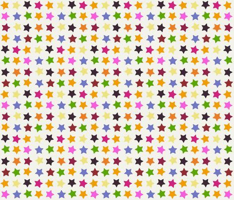 summer stars fabric by scrummy on Spoonflower - custom fabric