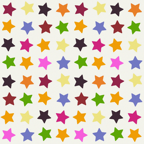 summer stars fabric by scrummy on Spoonflower - custom fabric