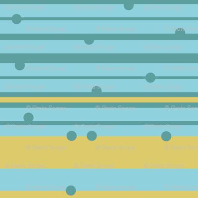 Stripes and Dots- Horizontal
