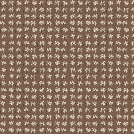 Coffee Blossoms fabric by petalsfair on Spoonflower - custom fabric
