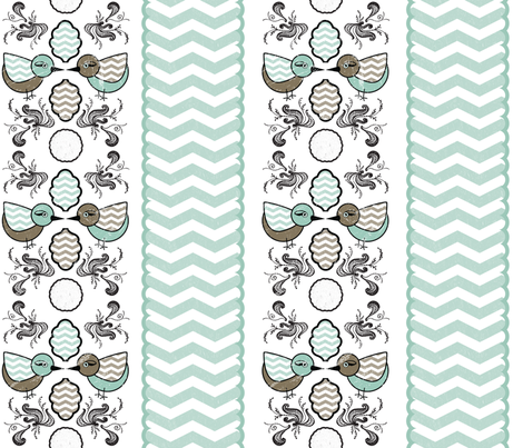 birdyswirl1 fabric by ashleystateresa on Spoonflower - custom fabric