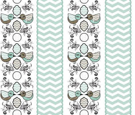 birdyswirl1 fabric by ashleystateresa on Spoonflower - custom fabric