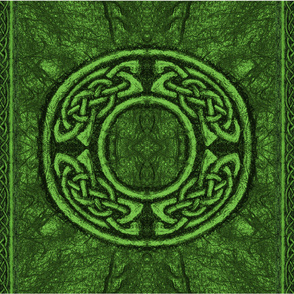 Ancient Celtic Circle Green