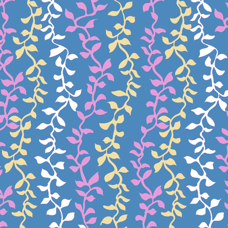 Vine leaf 3 fabric by kezia on Spoonflower - custom fabric