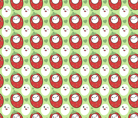 Cutie Fruity fabric by eppiepeppercorn on Spoonflower - custom fabric