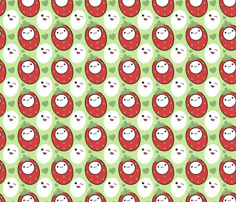 Cutie Fruity fabric by eppiepeppercorn on Spoonflower - custom fabric