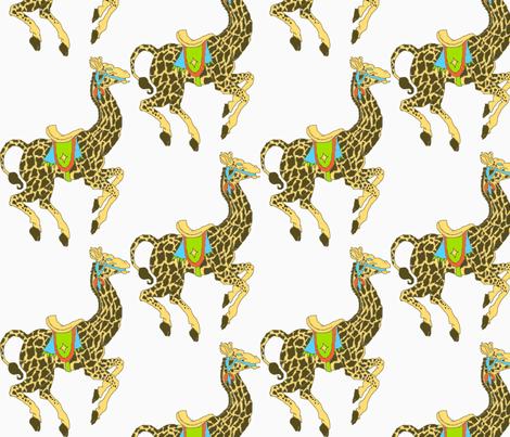 Golly, Giraffes!-ch fabric by kebrown on Spoonflower - custom fabric