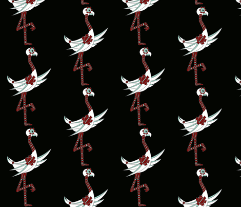 steampunk bird 1 fabric by kaito_kun92 on Spoonflower - custom fabric
