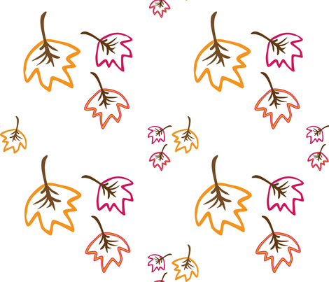 autumn fabric by cutekotori on Spoonflower - custom fabric