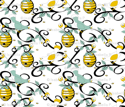 All About the Birds and the Bees - White