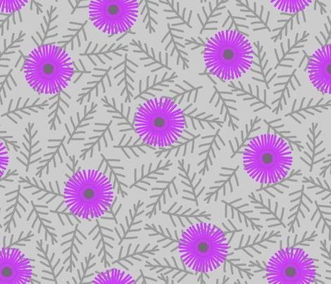 Iceplant fabric by siya on Spoonflower - custom fabric