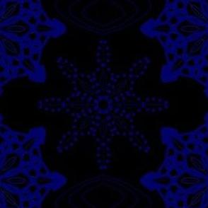 Midnight Snow Dark Flakes