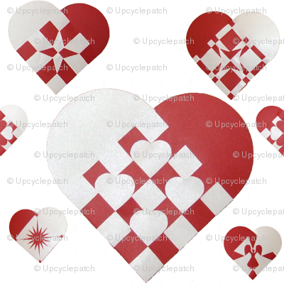 Danish Christmas Hearts - Small
