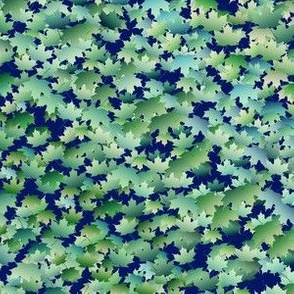 Scattered Maple Leaves 3, L