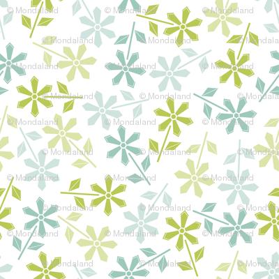 Hexy Flower (white)