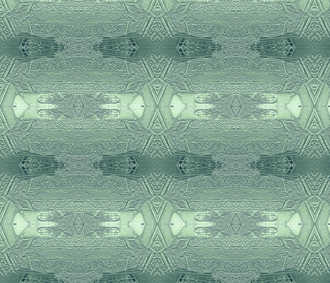 Carved Stonework in Turquoise fabric by wren_leyland on Spoonflower - custom fabric