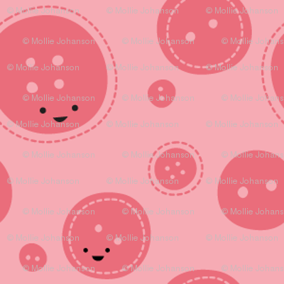Craftiness! Pink Buttons