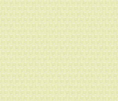 Craftiness! Green Thread fabric by wildolive on Spoonflower - custom fabric