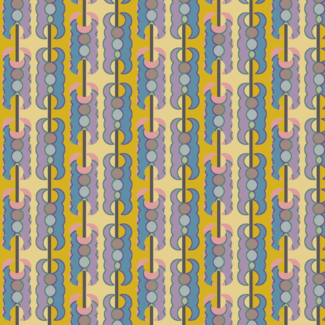 Chain Gang fabric by david_kent_collections on Spoonflower - custom fabric