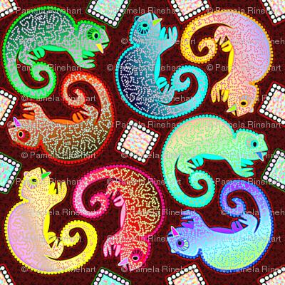 Little Chameleons