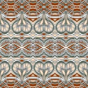 Swirlique Nouveau (sand and ash)