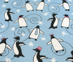 Penguins Puttin' On The Ritz (Blue)