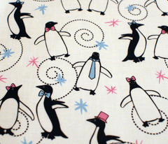 Penguins Puttin' On The Ritz