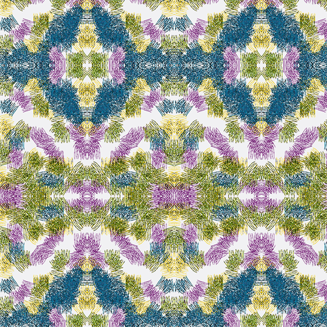 Grassy Abstract fabric by relative_of_otis on Spoonflower - custom fabric