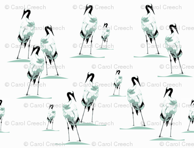 Japanese Cranes - Bird Contest (v2)