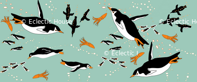 A Flock of Penguins