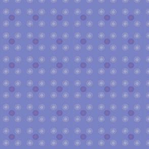 Blue compass pattern