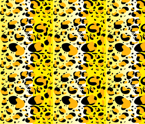 Cheetah! fabric by miss_fear on Spoonflower - custom fabric