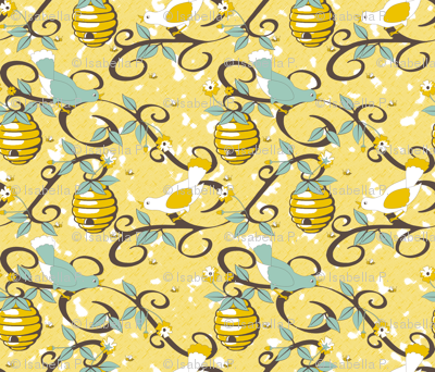 All About the Birds and the Bees - SoFt Yellow