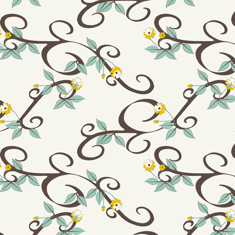 Blossoming - SoFt fabric by inscribed_here on Spoonflower - custom fabric