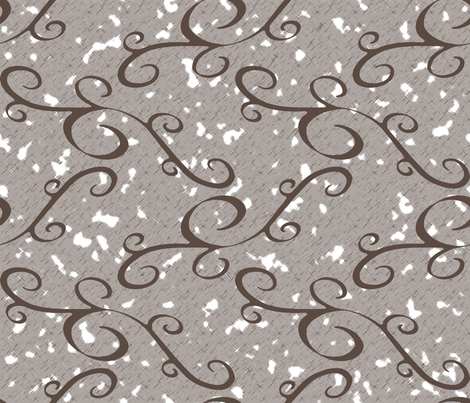 Branches - SoFt Brown fabric by inscribed_here on Spoonflower - custom fabric