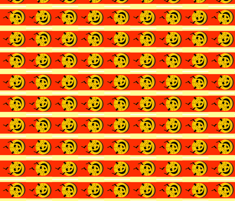 Roly Poly Jack o' Lantern fabric by robin_rice on Spoonflower - custom fabric