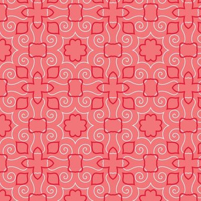 Party Birds BG Coral